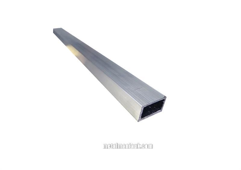 Aluminium Rectangular Hollow Section 1 Inch 25 4mm X 1 2
