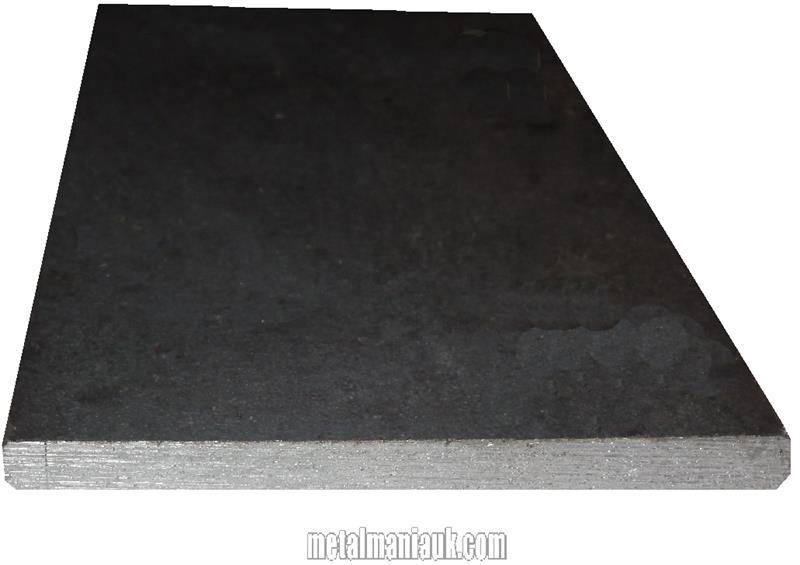 Black Flat Steel Strip 200mm X 3mm
