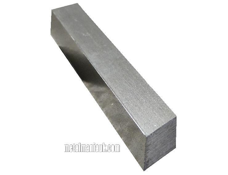 Bright Mild Steel Square Bar 1 Inch X 1 Inch