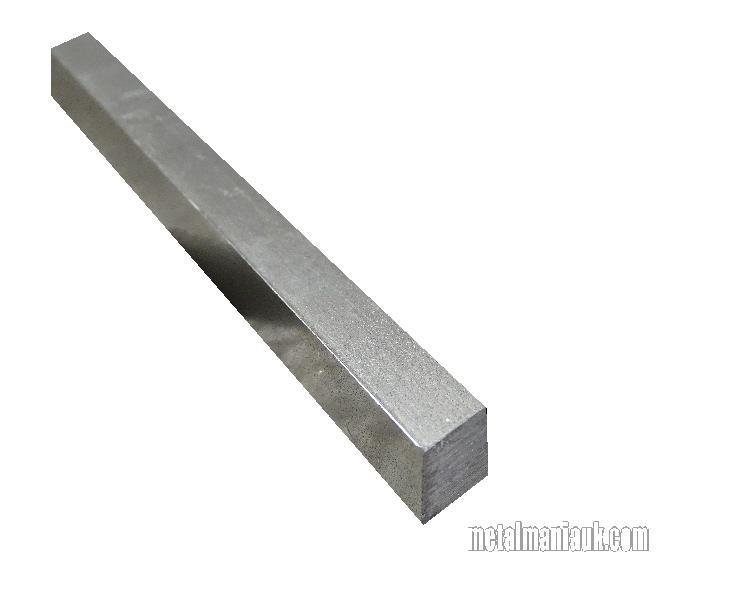 Bright Mild Steel Square Bar 16mm X 16mm
