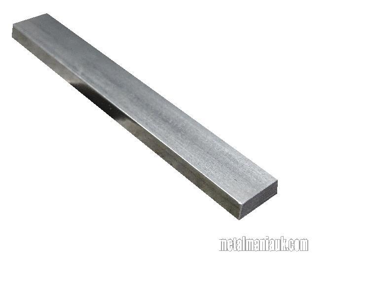 Bright Flat Mild Steel Bar 1 X 3 8