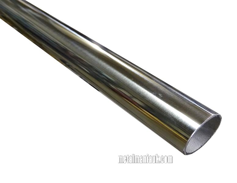 Stainless steel tube bright polished mm o d