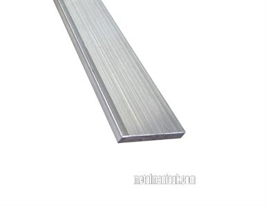 Buy Aluminium flat bar 6082 spec 50mm x 5mm Online