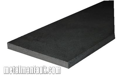 Buy Black Flat steel strip 50mm x 5mm Online