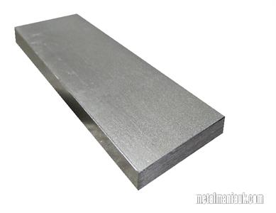 Buy Bright flat mild steel bar 60mm x 10mm Online