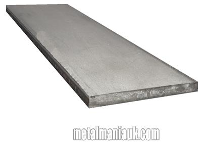 Buy Stainless steel Flat bar sorry no specs available 50mm x 12mm x 249mm Online