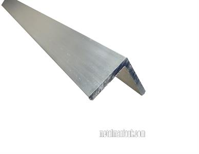 Buy Aluminium equal angle 38.1mm(1 1/2 inch) x 38.1mm x 1/8 Online