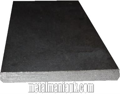Buy Black Flat steel strip 150mm x 6mm Online