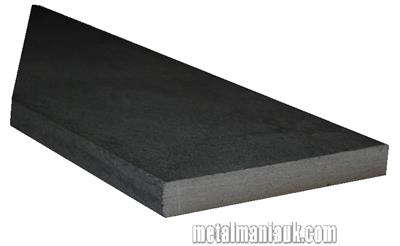 Buy Black Flat steel strip 60mm x 8mm Online