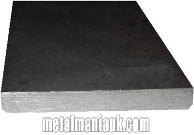 Buy Black Flat steel strip 130mm x 8mm Online