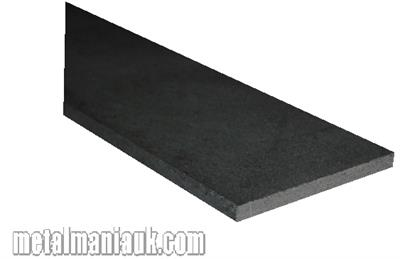 Buy Black flat steel strip 30mm x 3mm Online