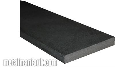 Buy Black Flat steel strip 40mm x 6mm Online