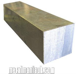 Buy Aluminium square bar spec 6082T6 1/2