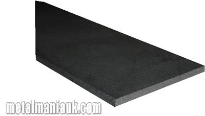 Buy Black flat steel strip 40mm x 3mm Online