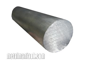 Buy Aluminium round bar 6082T6 1/2 (12.7mm) dia Online