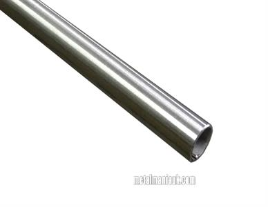 Buy Stainless steel tube 304 D/P 16mm O/D x 1.5mm wall Online