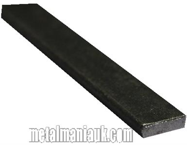 Buy Black flat steel strip 13mm x 3mm Online