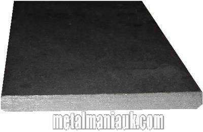 Buy Black Flat steel strip 130mm x 6mm Online