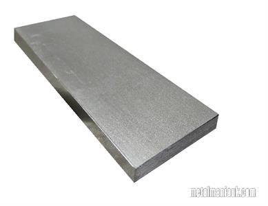 Buy Bright flat mild steel bar 60mm x 8mm Online