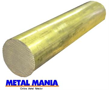 Buy Brass round bar CZ121 1
