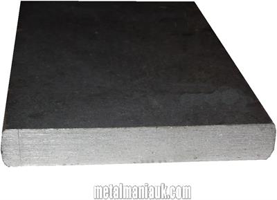 Buy Black Flat steel strip 130mm x 10mm Online