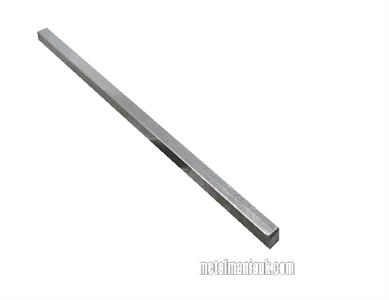 Buy Bright mild steel square bar 1/4 x 1/4 Online