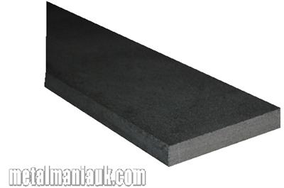 Buy Black Flat steel strip 30mm x 5mm Online