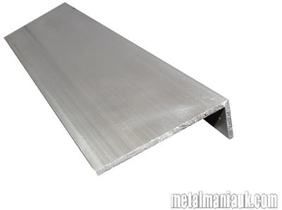 Buy Aluminium unequal angle 50mm x 25mm x 3mm Online
