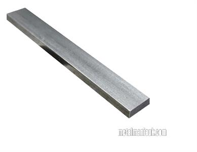 Buy Bright flat mild steel bar 25mm x 8mm Online