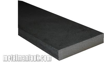 Buy Black Flat steel strip 40mm x 8mm Online