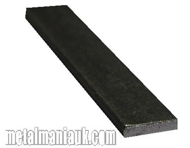 Buy Black Flat steel strip 16mm x 3mm Online