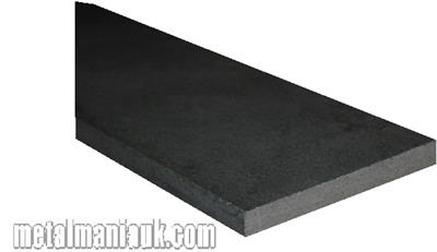 Buy Black Flat steel strip 40mm x 5mm Online