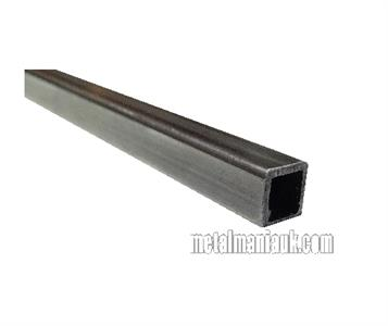 Sizes from 20mm to 100mm 20mm x 20mm x 2mm 2000mm Square Mild Steel Box Section