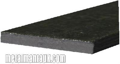 Buy Black Flat steel strip 75mm x 5mm Online