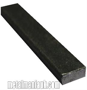 Buy Black flat steel strip 13mm x 5mm Online