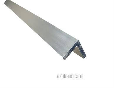 Buy Aluminium equal angle 25mm x 25mm x 3mm Online
