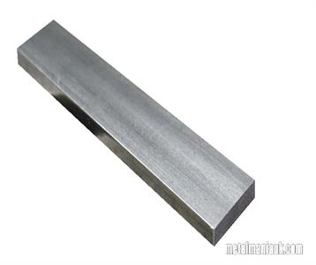Buy Bright flat mild steel bar 40mm x 10mm Online