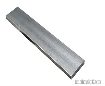 Buy Bright Flat mild steel bar 40mm x 6mm Online
