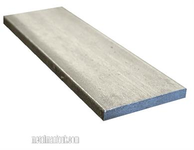 Buy Stainless steel flat strip 304 spec 50mm x 5mm Online