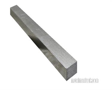 Buy Bright mild steel square bar 18mm x 18mm Online