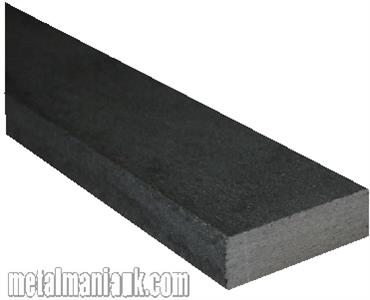 Buy Black flat steel strip 20mm x 6mm Online