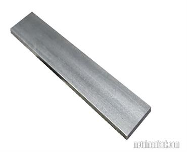 Buy Bright flat mild steel bar 40mm x 5mm Online