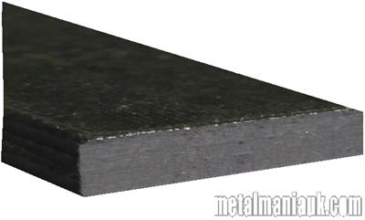 Buy Black Flat steel strip 100mm x 8mm Online