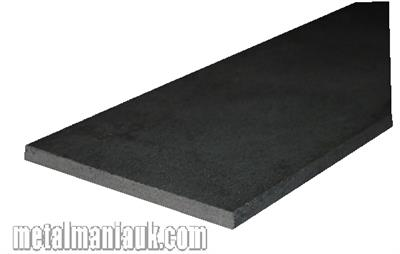 Buy Black Flat steel strip 50mm x 3mm Online
