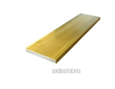 Buy Brass Flat bar 1 1/4