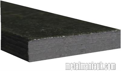 Buy Black Flat steel strip 100mm x 10mm Online