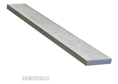 Buy Stainless steel flat strip 304 spec 25mm x 5mm Online