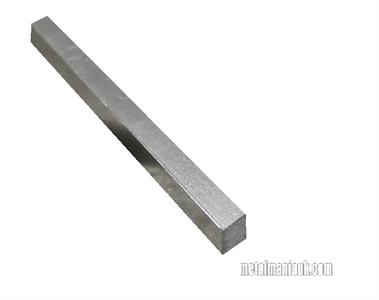 Buy Bright mild steel square bar 7/16 x 7/16 Online