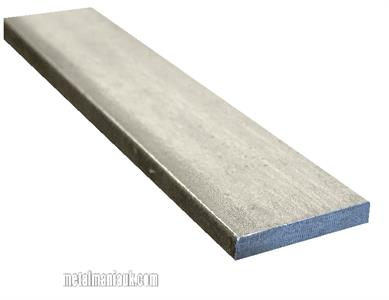 Buy Stainless steel flat strip 304 spec 40mm x 5mm Online