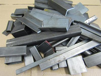 Buy Clearance mixed box of Steel offcuts,great for welding practice Online